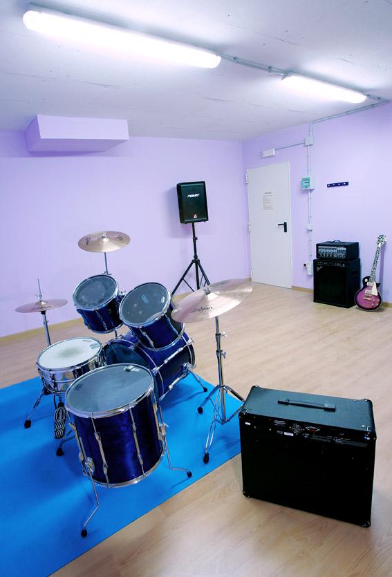 Sala equipada